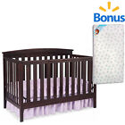 Delta CribConvertible 4 in 1  & Bonus MATTRESS Safety Certified ASSORTED Colors