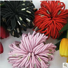 20x Girl Ladies Hair Elastic Band Thick Thin Hairbands Snag Bobbles Tone Plaits