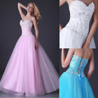 HOT Sweetheart Sequins Long Party Gown Homecoming Evening Prom Cocktail Dresses