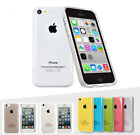 Crystal Transparent Glossy Clear Hard Back Case Cover Skin For Apple iPhone 5C