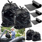 HEAVY DUTY BLACK REFUSE SACKS BAGS BIN LINERS BAG RUBBISH UK MADE 160G