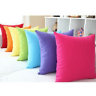 Soft Jelly Candy Colors Design Micro Suede Pillow Case Cushion Cover MOCASLL