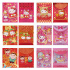 SANRIO KITTY MELODY TABO TWIN STARS POP UP NEW YEAR RED POCKET ENVELOPE (9-6437)