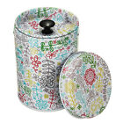 Double cover small cylinder Tea Food Storage toothpick caddy Tin canister Boxes