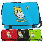 Stampy Messenger Bag - Mr Kids Cat Face Gamers School Shoulder College Laptop