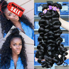 6A 200G/4 Bundles Brazilian Human Hair Weave Weft Virgin Loose Wave Hair Product