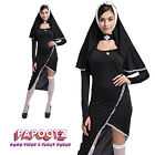 Ladies Nun sister Holy Fancy Dress Costumes Fits 8-16
