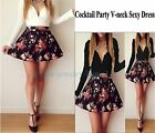 Summer Women's Long Sleeve Casual Casual Cocktail Party Short Slim Dress