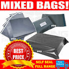 100 - 10 x 14 Mailing Grey Plastic Postage Post Packing Postal Courier Bags