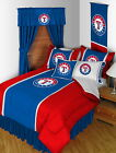 Texas Rangers Bed in a Bag Drapes Valance Twin to King Size