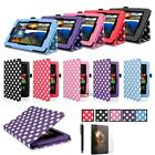 For 2015 Amazon Kindle Fire HD 7 Tablet PU Leather Folio Smart Fit Case MT