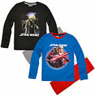 Boys Star Wars Pyjamas Kids Pjs Set Yoda Darth Vader New Age 4 6 8 10 Years