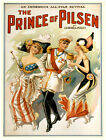 4889.The prince of pilsen.man with two women.POSTER.Decoration.Graphic Art