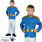 BOYS PRINCE CHARMING FAIRYTALE TOY SOLDIER NUTCRACKER FANCY DRESS COSTUME OUTFIT
