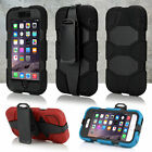 """Rugged Heavy Duty Shockproof Hard Back Case Cover For Apple iPhone 6 4.7"""""""