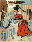 4945.The circus girl.woman with elephant.monkey.POSTER.Decoration.Graphic Art