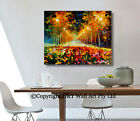 Country Road Abstract Stretched Canvas Prints Framed Wall Art Decor Painting DIY