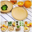 Lifestyle Cooking Designer Wooden cutlery Vintage Round Wood Plate Bamboo Bowl