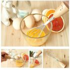 Designer Cooking Kitchen ware French Handcraft Wooden Handle Egg Whisk Beater