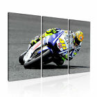 Valentino Rossi MotoGP Canvas Modern Home Office Art Deco ~ 3pc Many Size