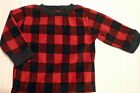 Jumping Beans baby boys 6-9 12 Month Choice Fleece Long Sleeve Checked Shirt NWT