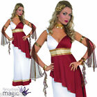 LADIES SEXY IMPERIAL EMPRESS ROMAN TOGA GREEK GODDESS ATHENA FANCY DRESS COSTUME