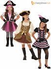 Age 4-11 Deluxe Girls Pirate Princess Fancy Dress Party Costume Book Week Day