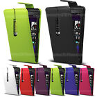 Leather Flip Case Cover Pouch For Blackberry Phone Various Models With Stylus