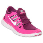 Nike Free 5.0+ Womens Size Running Shoes Raspberry Red Pink Sneakers 580591 616