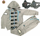NEW KIDS TODDLERS LOCATION FLEECE FULL TRACKSUIT HOODED TOP & JOGS 2 YRS - 6 YRS