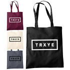 TRXYE Shopper Tote Bag - Troye Sivan Music Video Troy Artist Record Fashion Bags