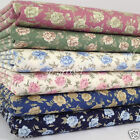 per 1/2 Mtr/fat quarter CHLOE floral fabric 100% cotton dressmaking craft