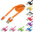 Noodle Flat Sync USB Data Charger Cable Cord 3FT for iPhone 5S 5 5C