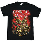 Cannibal Corpse - Skeletons And Skulls - black t-shirt - Official Merch