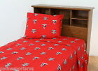 Texas Tech Raiders Sheet Set Twin to King White or Team Color