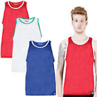 Mens Mesh Vest Brave Soul New Sports Sleeveless Gym T-Shirt Basketball Tank Top