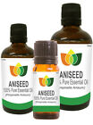 Aniseed Essential Oil Pure Natural Authentic Pimpinella Anisum Aromatherapy