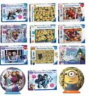 Childrens Kids Puzzles Disney Frozen Despicable Me 2 Minions Big Hero 6 Variety