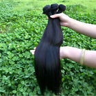 50g Brazilian Virgin Straight Soft  Virgin 100% Human Hair Extensions 1 bundle