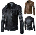 Resident Evil 6 / Leon Scott Kennedy Game Cosplay Costume Leather Coats&Jacket