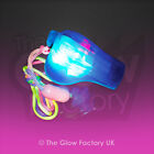 Light Up Flashing Whistles LED Rave Glow