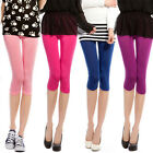 C8 Womens Summer Tight Pants Stretch Leggings Pencil Basic Candy Colors