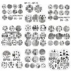 Nail Art Image Stamp Template Stamping Plates BORN PRETTY 1-60