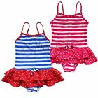 Girls Baby Toddler Striped Bathing Suit Swimsuit Kids SZ 3-8Y Swimwear Clothes