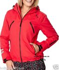 NEW LADIES WOMANS WINTER SKI JACKET RED SIZE 14 OR 16 UK
