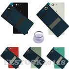 Back Door Battery Rear Glass Cover For Sony Xperia Z3 Mini Compact D5803 D5833