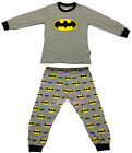 Batman Children Kids Boys Nightwear Outfit Top + Trouser Sleepwear Pajama 2-7 Yr