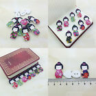 20/50/100Pcs Bulk Cute Japanese dolly Sewing Buttons Scrapbooking 2 Holes