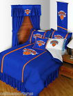 New York Knicks Comforter Bedskirt Sham & Valance Twin Full Queen King Size