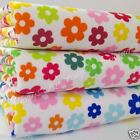 Per HALF metre Jelly tot floral fabric 3 colours POLYCOTTON 112 cm wide